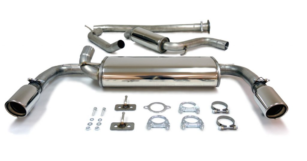 Image of Jetex's Volvo V40 4cyl 2013+ exhaust system.